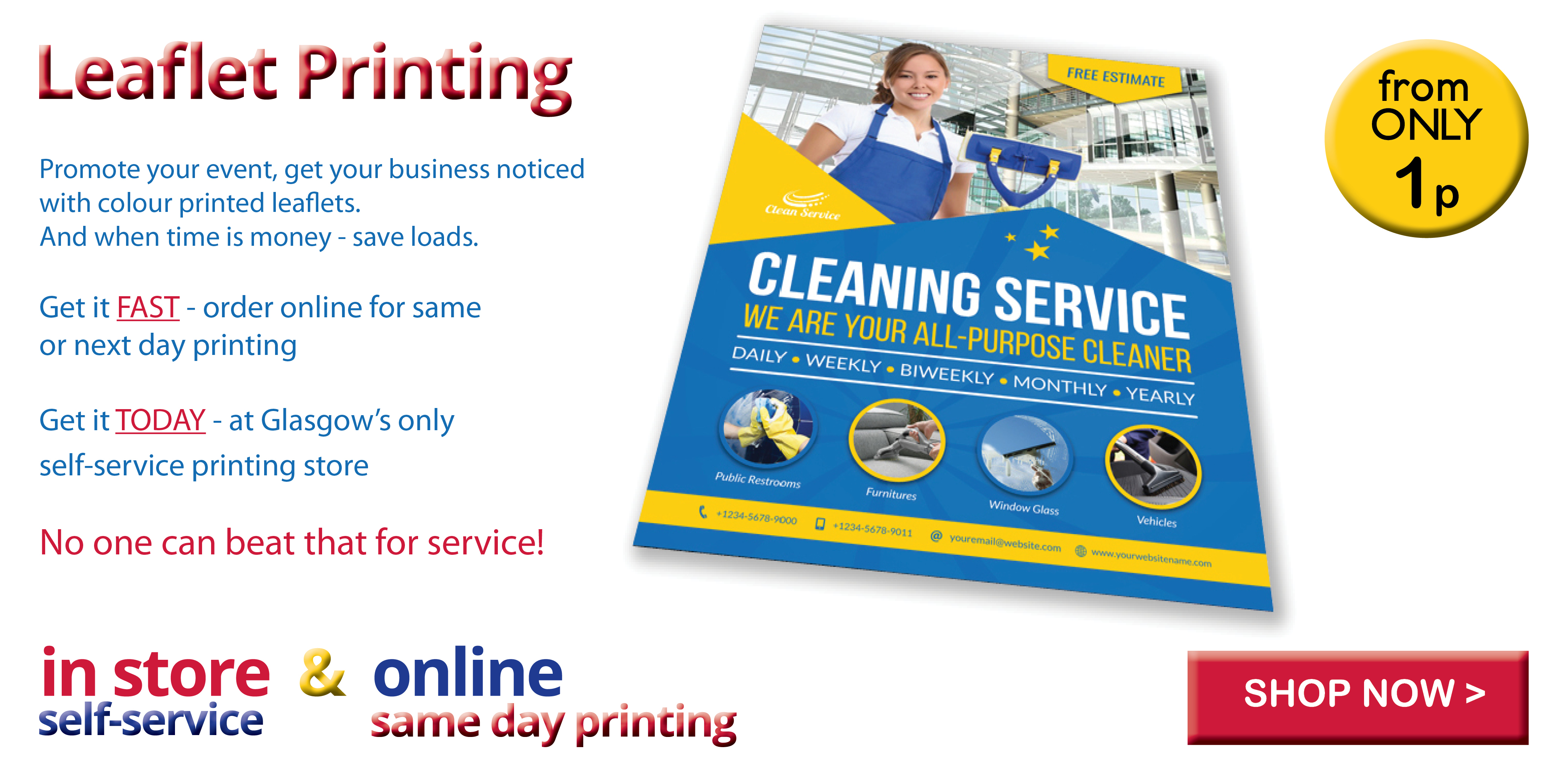 Self service copy print shop glasgow same day printing reheart Images