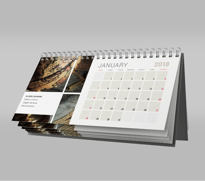 Wall and Desk Calendars